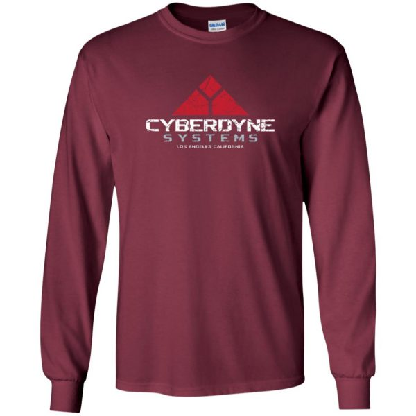 cyberdyne systems long sleeve - maroon