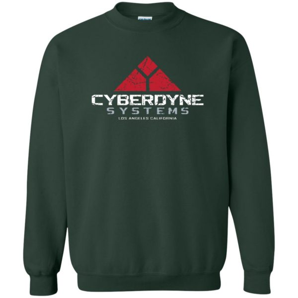 cyberdyne systems sweatshirt - forest green