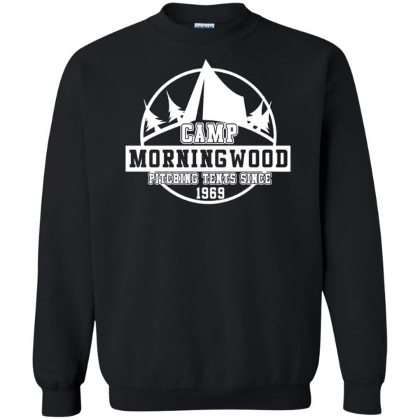 morning wood sweatshirt - black