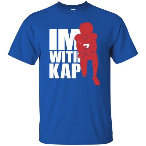i'm with kap t shirt - royal blue