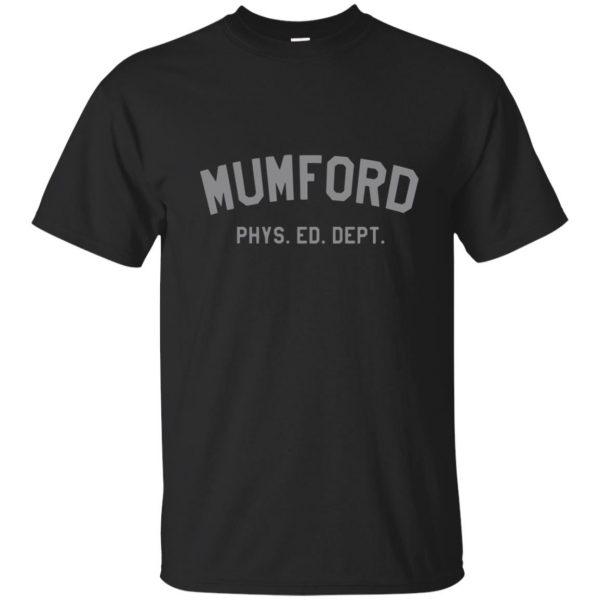 mumford phys ed shirt - black