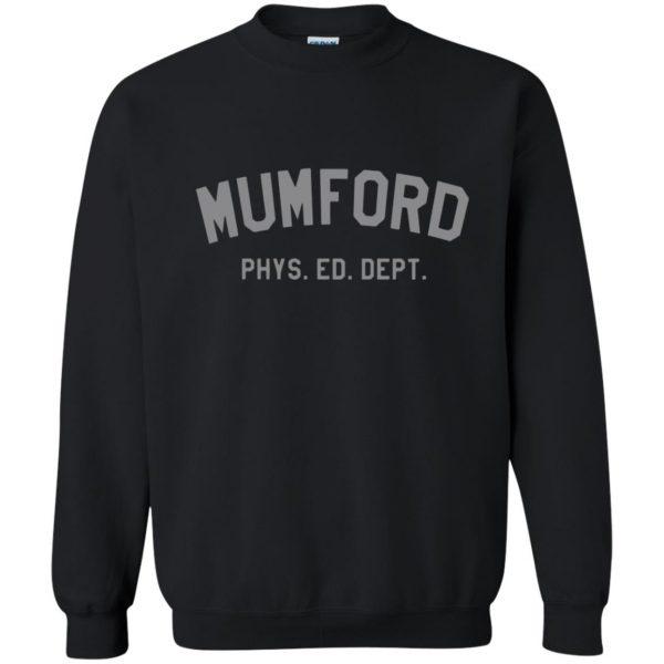 mumford phys ed sweatshirt - black