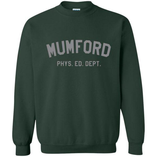 mumford phys ed sweatshirt - forest green