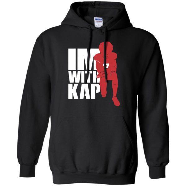 i'm with kap hoodie - black