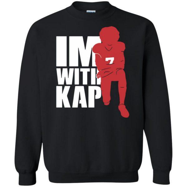 i'm with kap sweatshirt - black