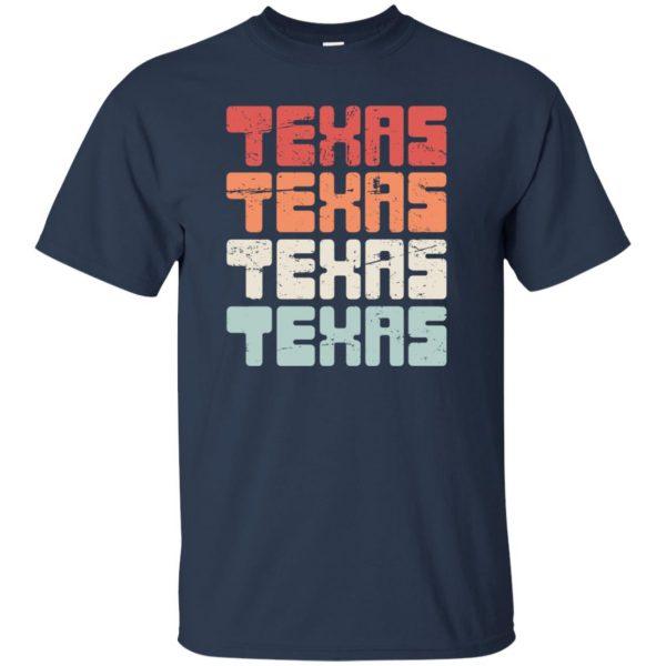 vintage texas t shirt - navy blue