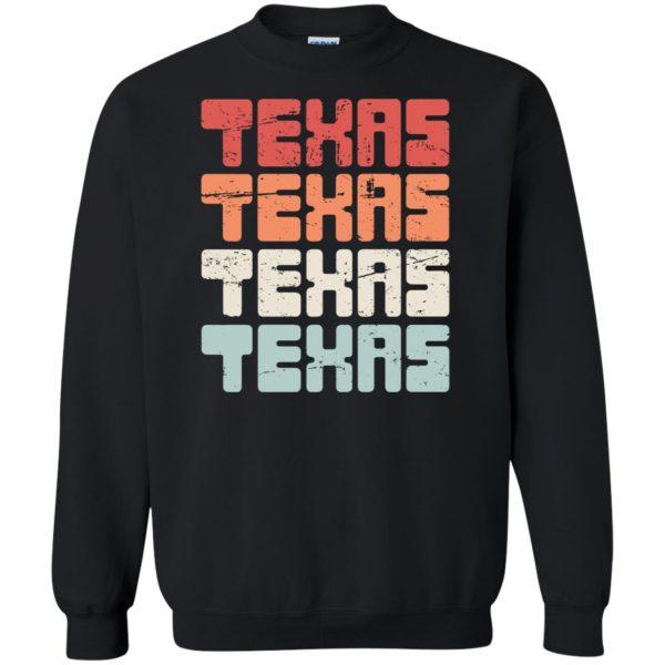 vintage texas sweatshirt - black