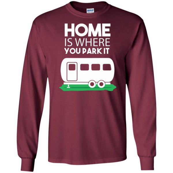 rv long sleeve - maroon
