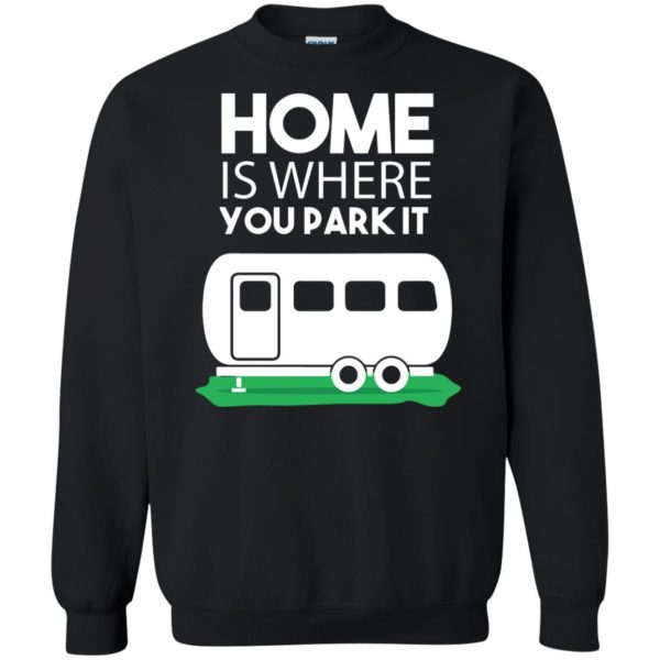 rv sweatshirt - black