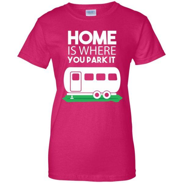 rv tshirt womens t shirt - lady t shirt - pink heliconia