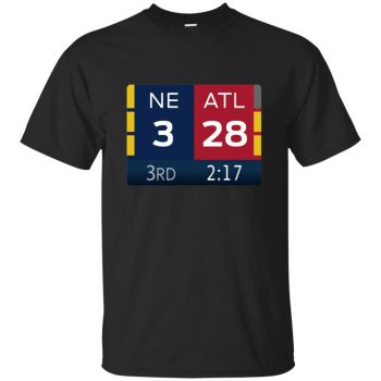 ne 3 atlanta 28 shirt - black