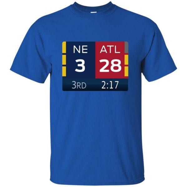 ne 3 atlanta 28 t shirt - royal blue