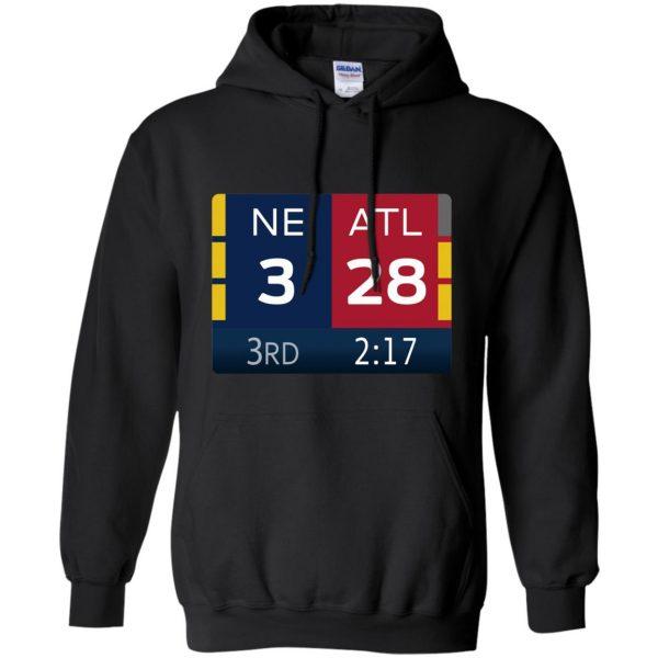 ne 3 atlanta 28 hoodie - black