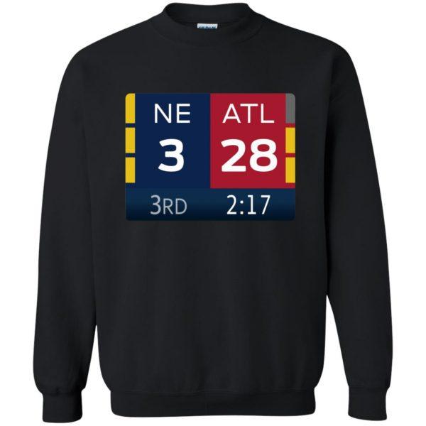 ne 3 atlanta 28 sweatshirt - black