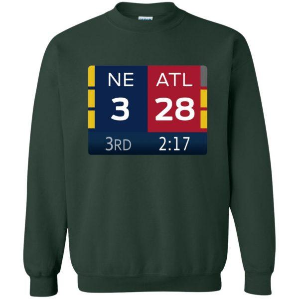 ne 3 atlanta 28 sweatshirt - forest green