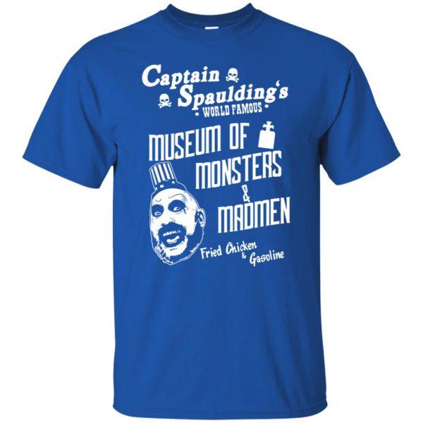 captain spauldings t shirt - royal blue