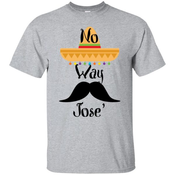 no way jose shirt - sport grey