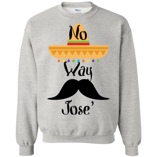 no way jose sweatshirt - ash