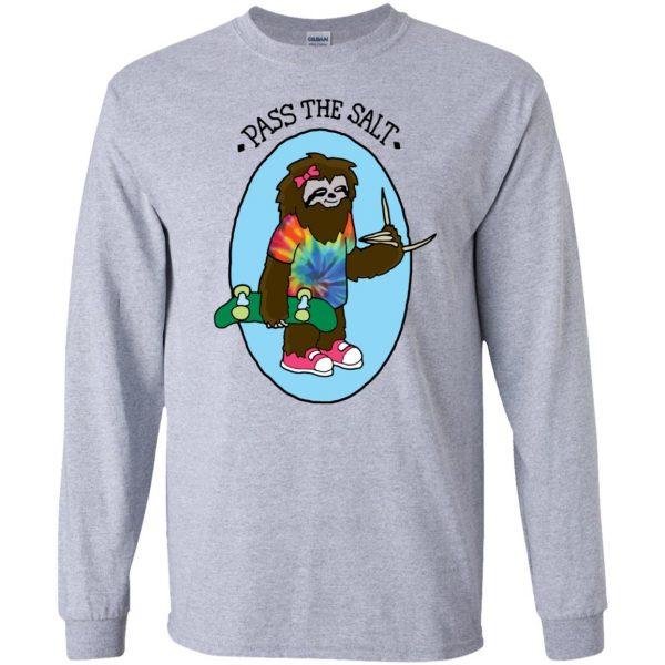 stoner sloth long sleeve - sport grey