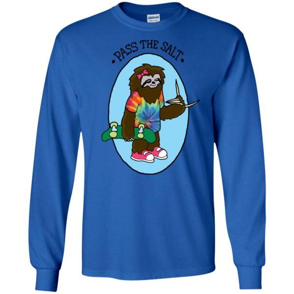 stoner sloth long sleeve - royal blue