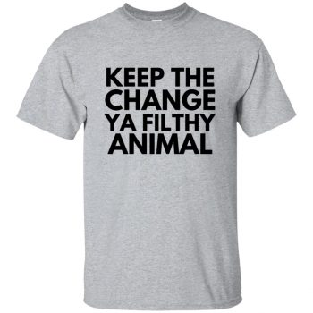 filthy animal shirt - sport grey