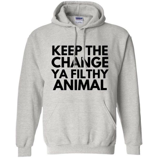 filthy animal hoodie - ash