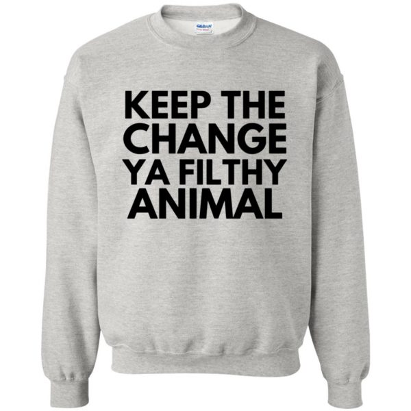 filthy animal sweatshirt - ash