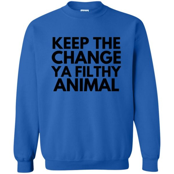 filthy animal sweatshirt - royal blue