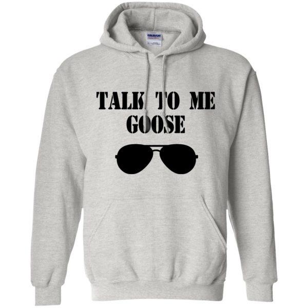 talk to me goose hoodie - ash