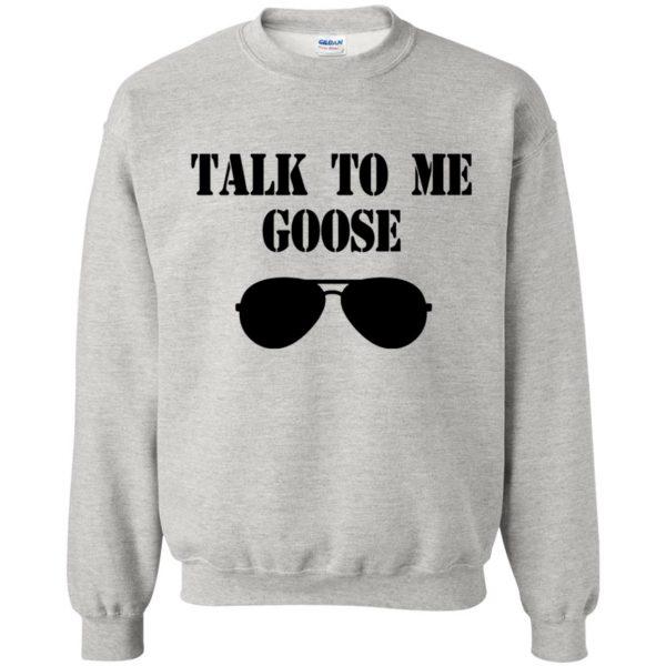 talk to me goose sweatshirt - ash