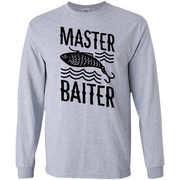 master baiter long sleeve - sport grey