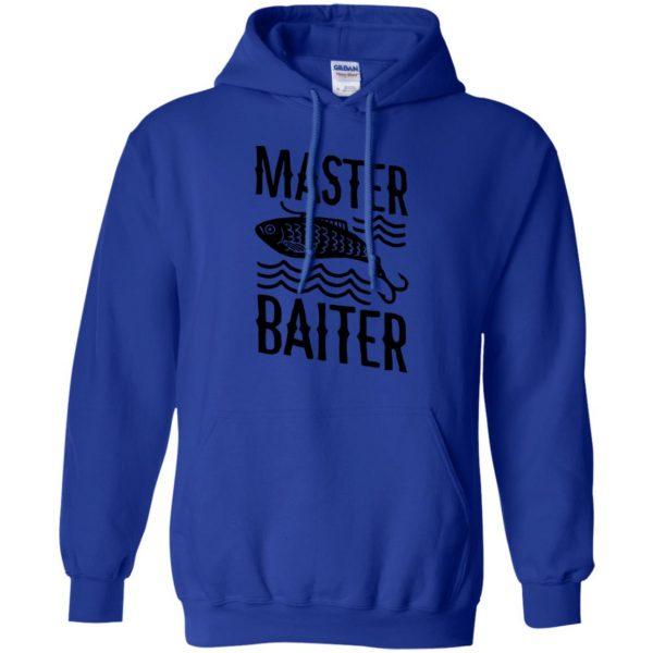 master baiter hoodie - royal blue