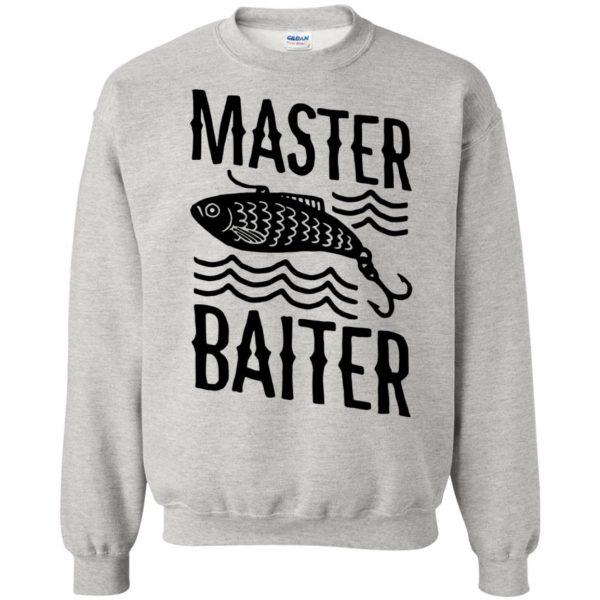 master baiter sweatshirt - ash