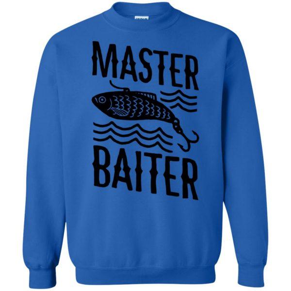 master baiter sweatshirt - royal blue