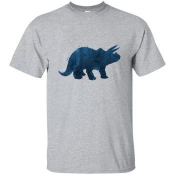 triceratops t shirt - sport grey
