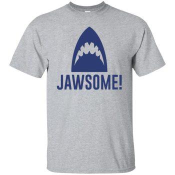 jawsome t shirt - sport grey