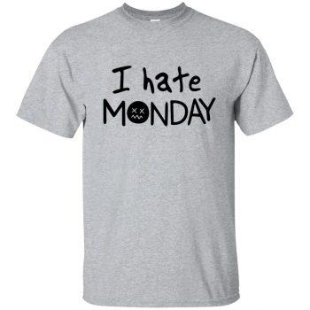 i hate mondays shirt - sport grey