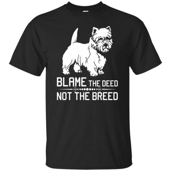 cairn terrier t shirt - black