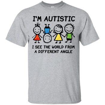 I'm Autistic - sport grey