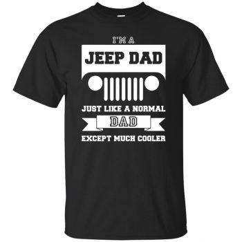 jeep dad shirt - black