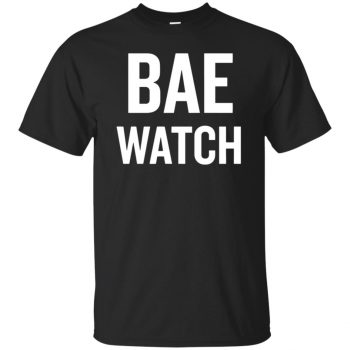 bae watch shirt - black