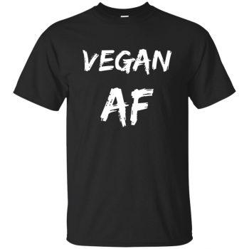 vegan af shirt - black