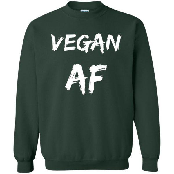 vegan af sweatshirt - forest green