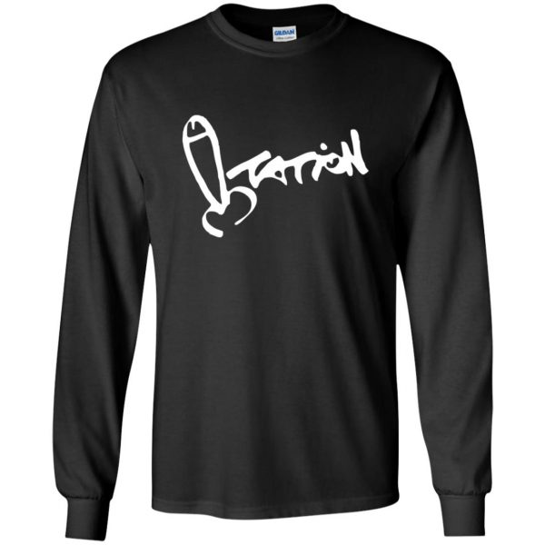 summer heights high long sleeve - black