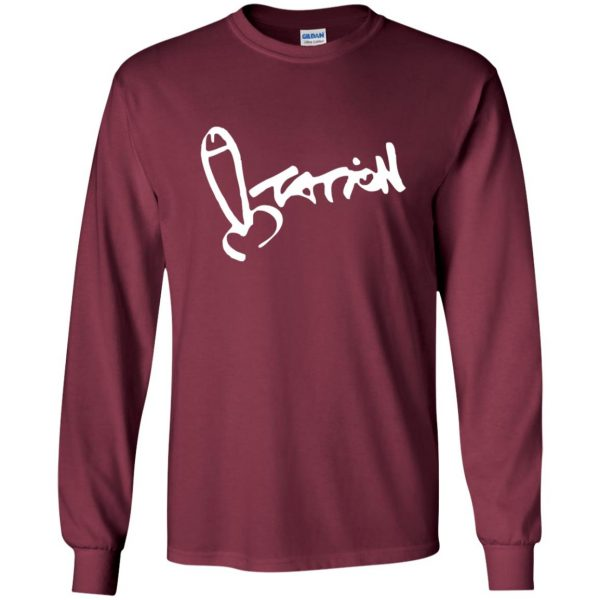 summer heights high long sleeve - maroon