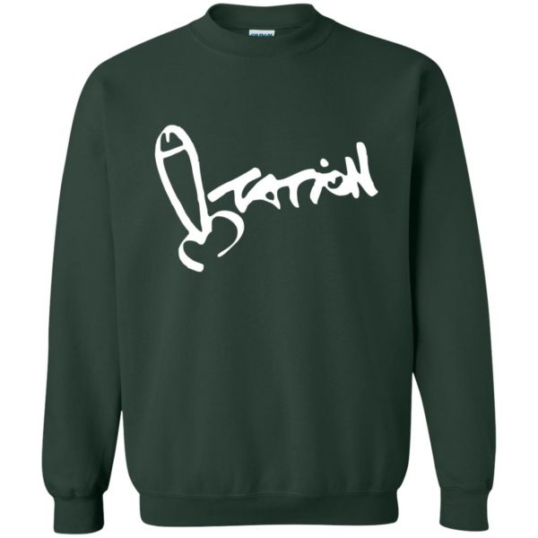 summer heights high sweatshirt - forest green