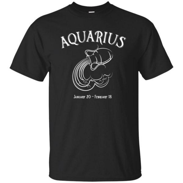 aquarius sweatshirt - black