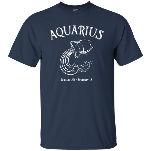 aquarius sweatshirt t shirt - navy blue