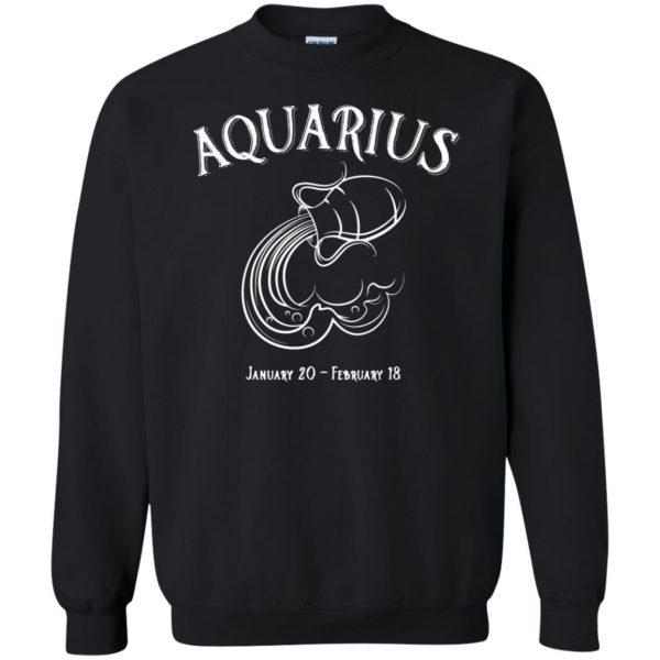 aquarius sweatshirt sweatshirt - black