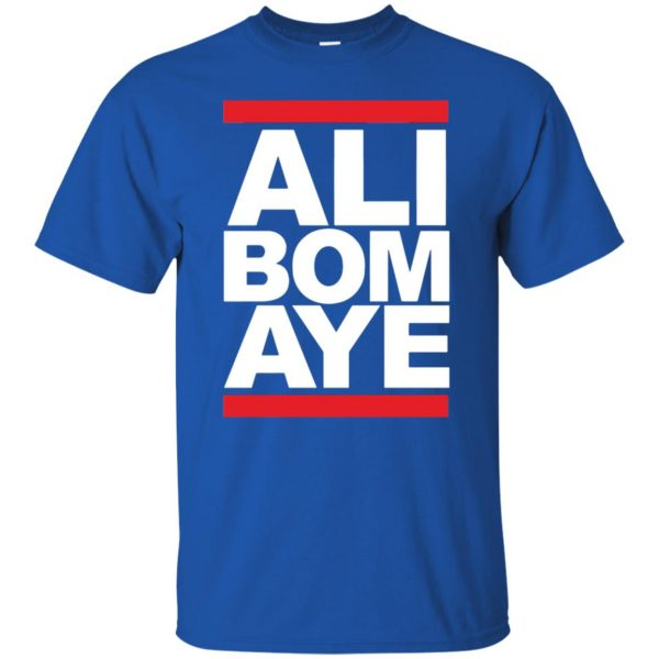 ali bomaye t shirt - royal blue